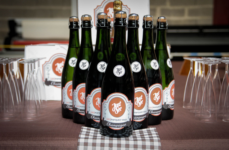 bouteilles-de-champagne-personnalise 3 ans-justsee