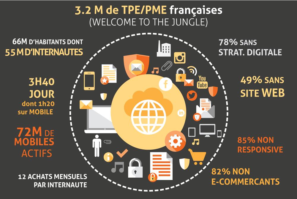 TPE PME Francaise stratégie digitale