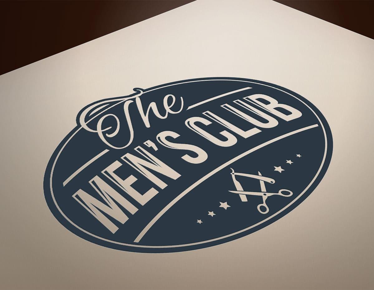 Creation-logo-barbershop-the-mens-club
