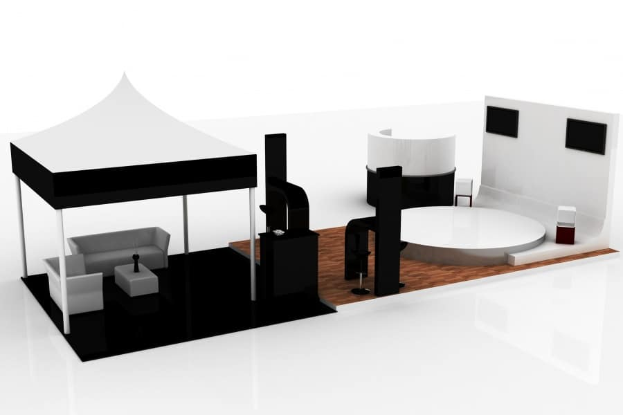 Display event stand
