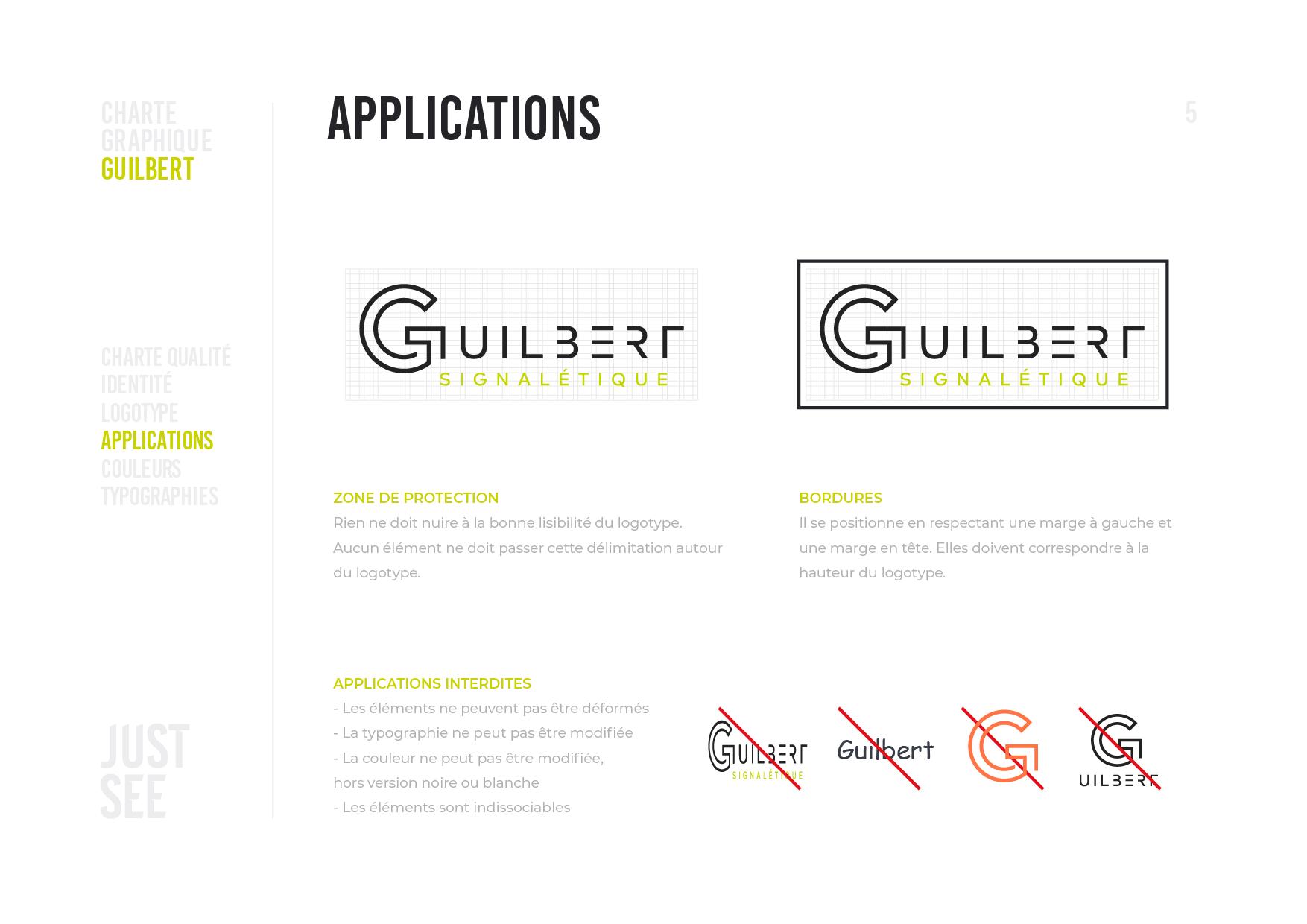Guilbert Charte graphique 2020-06